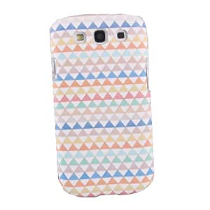 Colorful Small Triangle Hard Matt Case / Cover For Samsung Galaxy SIII S3 i9300