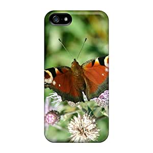 Shockproof/dirt-proof Butterfly Widescreen 01 Covers Cases For Iphone(5/5s)
