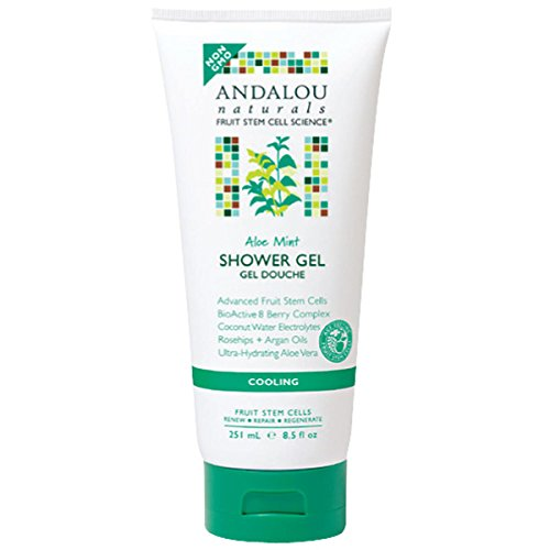 New - Andalou Naturals Shower Gel - Aloe Mint Cooling - 8.5 Fl Oz by Body -