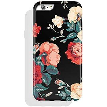 Amazon.com: Cute iPhone 6 Plus Case, Girls Red Flamingo ...