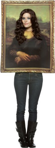 Mona Lisa - Photo Frame - Adult Fancy Dress Costume by Rasta Imposta -