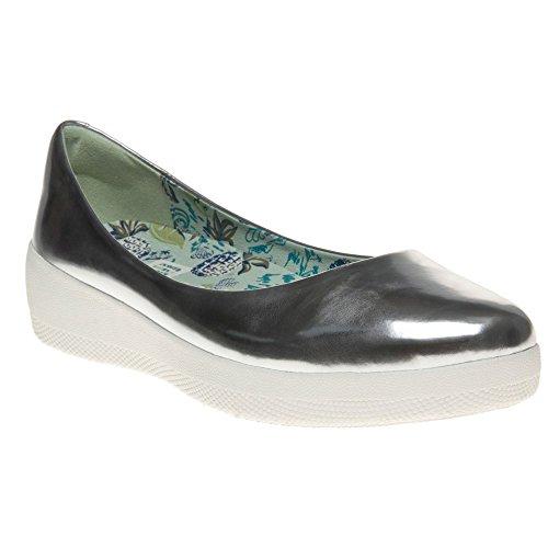 Fitflop Anna Sui Super Ballerina Damen Schuhe Metallisch