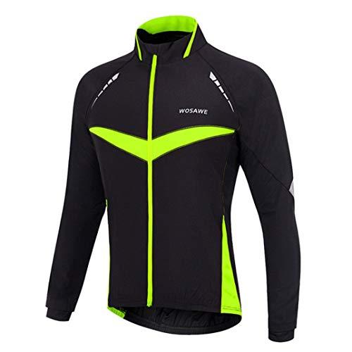 Winter Thermal Cycling Clothing Women Windproof Waterproof Reflective Jacket Sets Men Long Sleeve Jackets