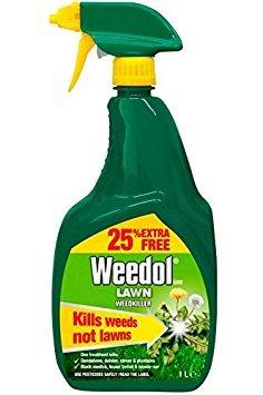 Weedol Lawn Weedkiller Gun 1L (Includes 25% Extra)