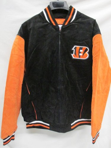 Amazon.com   G-III Cincinnati Bengals Mens Large Full Zip Soft ... 137fbf1fe1