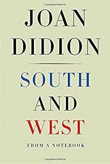 Book Cover: South and West: From a Notebook
