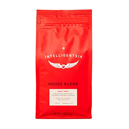 - Intelligentsia House Blend - 12oz - Light Roast, Direct Trade, Whole Bean Coffee