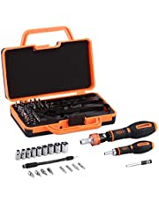 Schraubendreher Set Steckschlüssel Bit-Satz Steckschlüsseleinsatz Schraubenzieher-Set 69 in 1 Mehrzweck-Präzisions-Schraubendreher Tool Steckschlüsseleinsatz