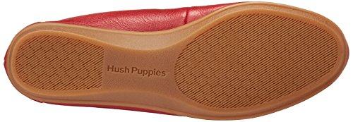 Hush Puppies Kvinders Uendelige Kys Flad Rødt Læder nZi4P