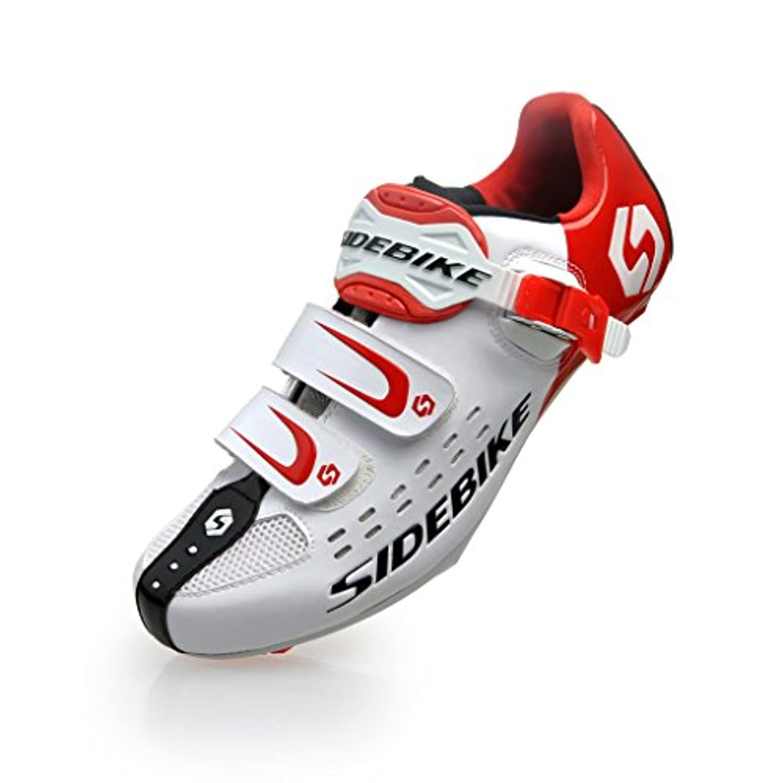 SIDEBIKE SD-001 Road Cycling Shoes (EU 40 ( UK 6.5 ), Upgrade-Blue Black)