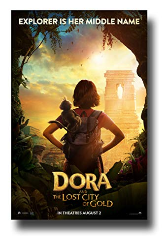 Dora and The Lost City of Gold Poster Movie Promo 11 x 17 inches Explorer is Her Middle Name Dora The Explorer