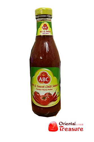 Sambal Manis Pedas (Hot & Sweet Chili Sauce) - 11.5fl Oz (Pack of 1) (Sauce Abc Sweet Chili)