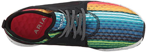 Ariat Damen Fuse Athletic Sneaker Regenbogen Serape Mesh