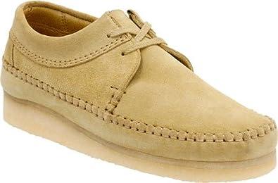 Clarks - Mens Weaver Shoe, Size: 7 D(M) US, Color
