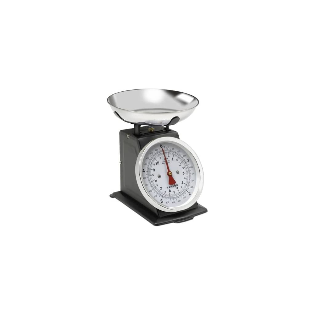 Hanson-H500-Black-Traditional-Mechanical-Kitchen-Scale