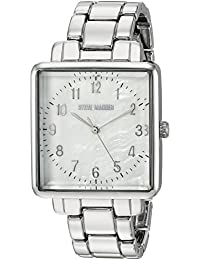 Womens Quartz and Alloy Casual Watch, Color Silver-Toned (Model: SMW020)
