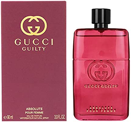 6ca0fb718 Gucci Guilty Absolute for Women, 3 oz EDP Spray: Amazon.ae
