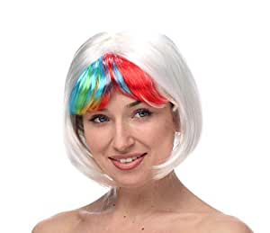 Halloween lady short hair wig