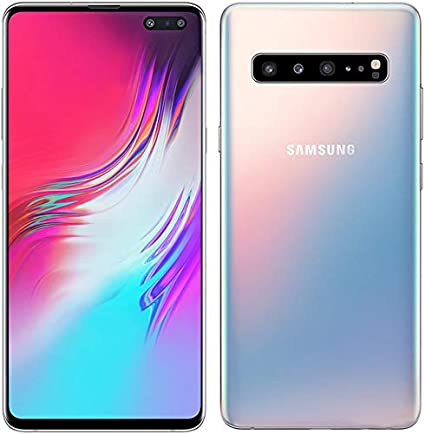 Samsung Galaxy S10 5G, 256GB, Cloud Silver - For Verizon (Renewed)