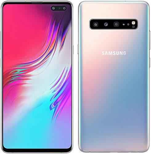 Samsung Galaxy S10 5G Enabled 6.7in Single SIM SM-G977UZSAVZW 8GB+256GB Cloud Silver (VZW Unlocked) - US Warranty (Renewed)