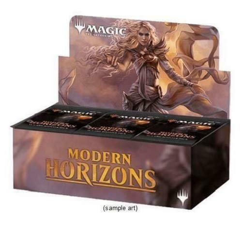 Magic MTG Modern Horizons Booster Box - 36 Packs of 15 Cards Each