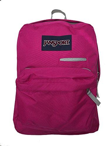 JanSport Womens Digital Carry Mainstream Digibreak Backpack - Cyber Pink / 16.7H X 13W X 8.5D