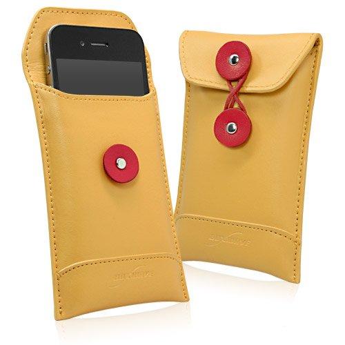 - LG Optimus 2 Case, BoxWave [Manila Leather Envelope] Retro Envelope Style Hip Cover for LG Optimus 2