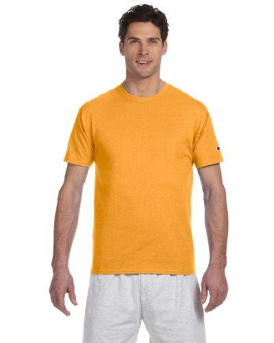 Champion T425 Adult Short-Sleeve T-Shirt Grün (Vegas Gold)