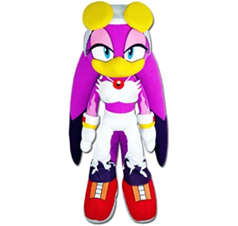 Amazon Com Ge Animation 52678 Sonic The Hedgehog Wave The Swallow Stuffed Plush 13 Toys Games