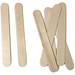 """Super Huge Craft Sticks - 1.25"""" Wide and 10"""" Inches Long! (50-Pack)"""