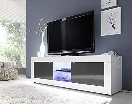 Kasalinea Ariel 3 - Mueble para televisor, Color Blanco y Gris: Amazon.es: Hogar
