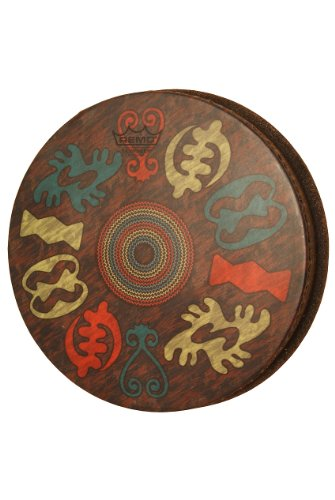 Remo Djembe Drumhead, 12'' Adinkra by Remo