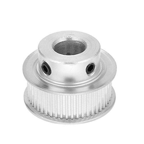 uxcell Aluminum MXL 50 Teeth 14mm Bore Timing Belt Idler Pulley Synchronous Wheel 10mm Belt for 3D Printer CNC