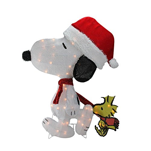 Peanuts Snoopy Outdoor Lighted Christmas Decoration in Florida - 3