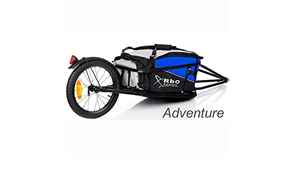 RBO Remolque de Bicicleta para Carga, Adventure, Desmontable y ...