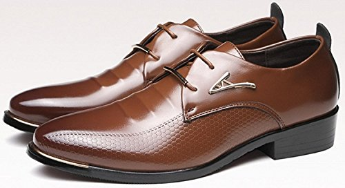 Dei A Uomo In Matrimoni Shoes Oxfords 38 Le up brown HYLM Lace Pelle Business punta Dita zpfFfqXw