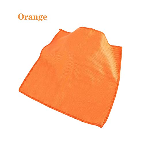 - Cleaning Cloth 1/3Pcs Household Glass Window Cleaning Cloth Kitchen Absorbent Dishcloth Cleaning Rags Kitchen Washing Towel Scouring Pad,Orange,1