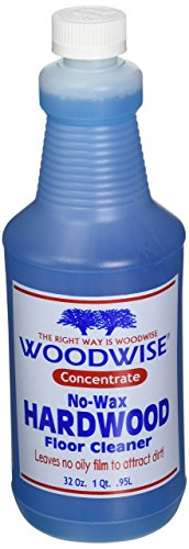 (Woodwise No-Wax Hardwood Floor Cleaner Concentrate - 32oz Pack of 2)