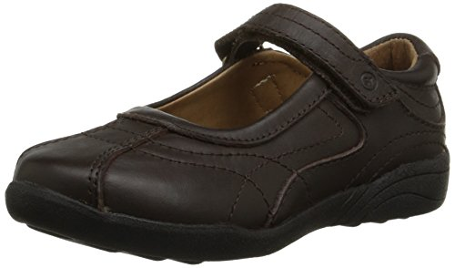 Stride Rite Claire Mary Jane (Toddler/Little Kid/Big Kid),Brown,13.5