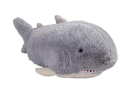 """Pillow Pets Grey Pillow Pet- PeeWee Shark - 11"""""""