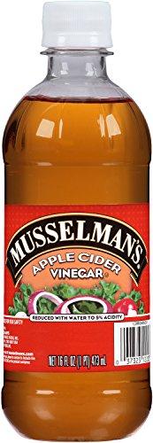 Musselman's Apple Cider Vinegar, 16 Fluid Ounce (Pack of 12)