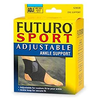 9d67706d26 Image Unavailable. Image not available for. Color: Futuro Sport Adjustable  Ankle Support ...