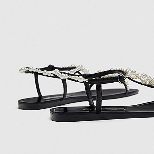 primavera sandali sandali e l'estate sandali 38 La sandali YMFIE 34 F5qRBn