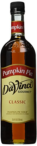 (Da Vinci Pumpkin Pie Syrup, 750 ml Bottle (Glass).)