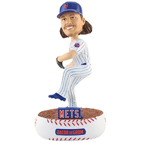 Forever Collectibles Jacob DeGrom New York Mets Baller Special Edition Bobblehead MLB