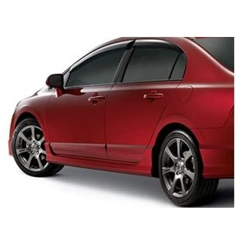 Honda Genuine Accessories 08F03-SNA-1A0 Tango Red Pearl Rear Underbody Spoiler for Select Civic Models