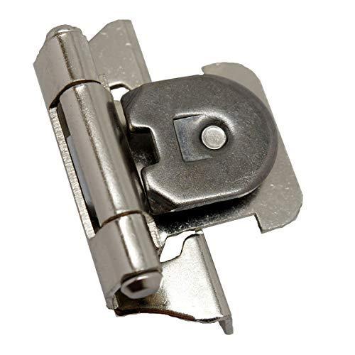 - Amerock CM871514 Single Demountable Hinge, Partial Wrap, 1/4