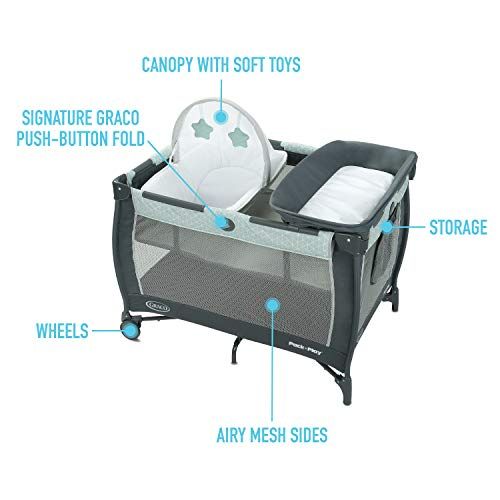 Graco Pack 'n Play Care Suite Playard, Zagg
