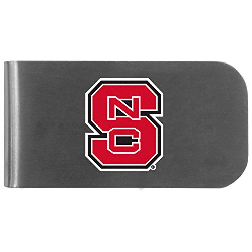 NCAA North Carolina State Wolfpack Logo Bottle Opener Money Clip ()