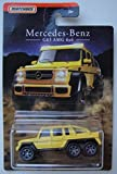 Matchbox Mercedes Benz Series, Yellow Mercedes Benz G63 AMG 6X6